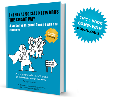 Internal Social Networks The Smart Way 2nd edition book cover